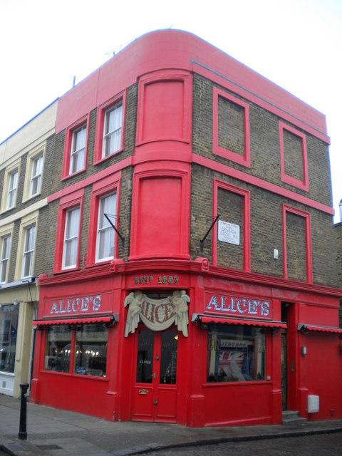Alice's, Portobello Road W11