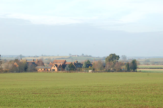 Looking northwest to Newfields Farm from Shakers Lane