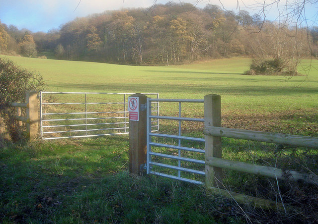 Gateway below Hintons Hill