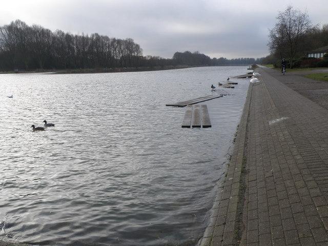 Peterborough rowing lake