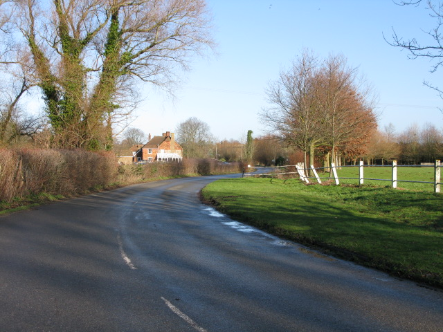View along Flood Street towards Mersham