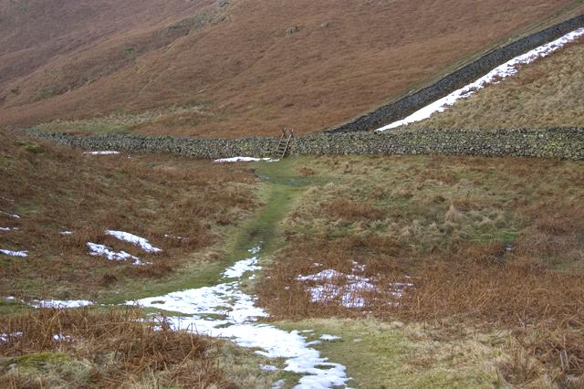 Footpath on High Rigg