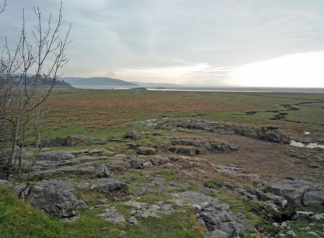 """Blawith Point and the """"sands"""" to Morecambe Bay"""