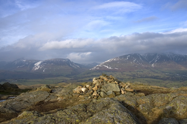 Summit cairn High Rigg