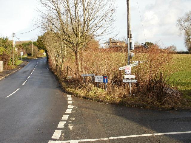 A holy junction, New Inn