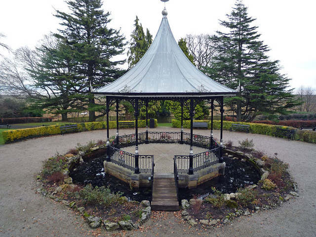 The Bandstand, Park Gardens, Grange-over-Sands