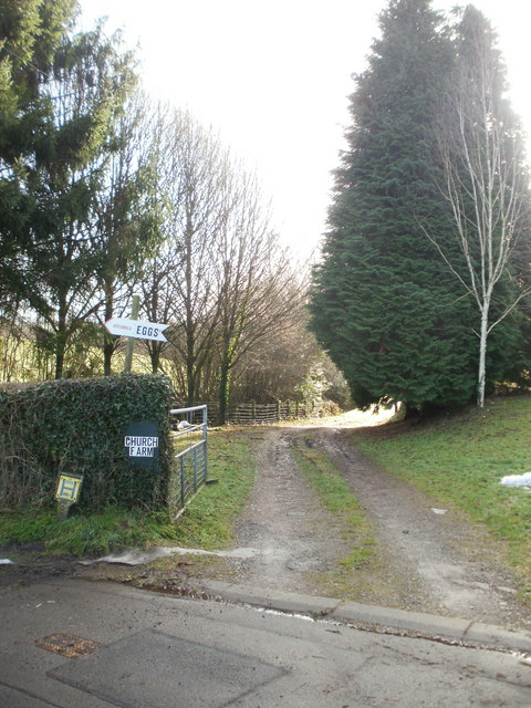 Entrance to Church Farm, Panteg