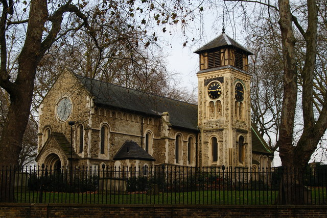St.Pancras Old Church, Pancras Road, London