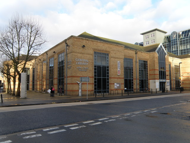 Central Library, Peterborough