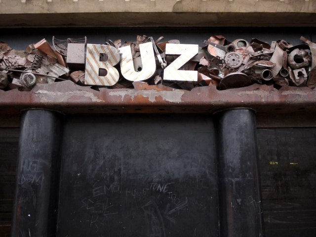 Entrance to former Buz nightclub, John Dobson Street