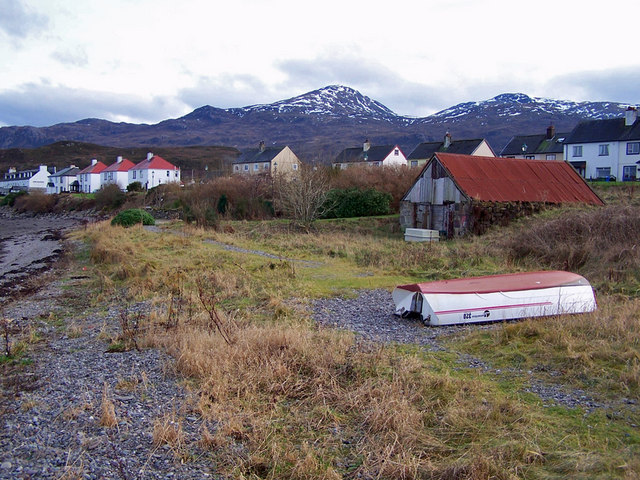 Boat and shed, Kyleakin