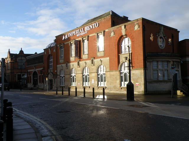 The old library, Broadway, Peterborough