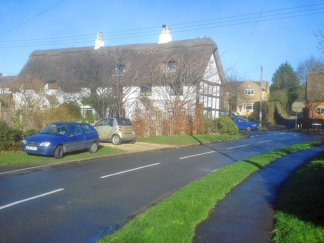 Thatched house on Willow Bank Road