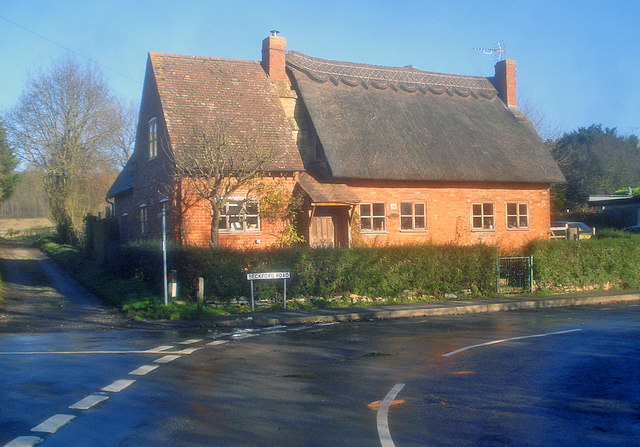 Semi-thatched cottage on Beckford Road
