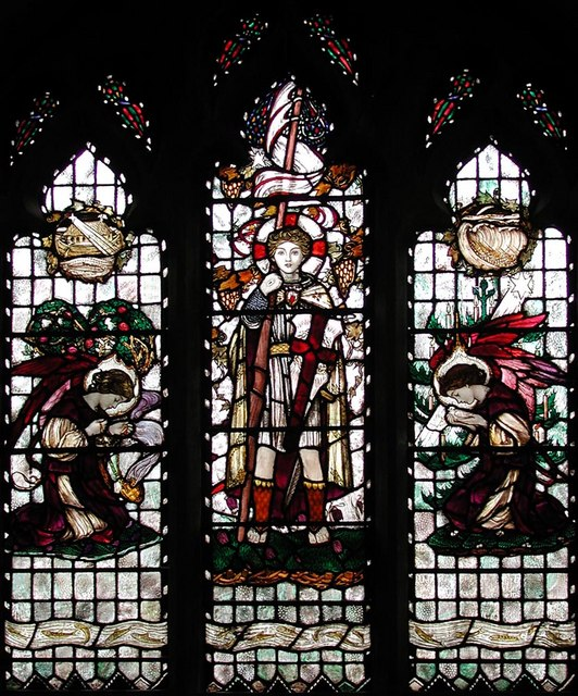 St Anselm, Hatch End - Window
