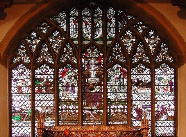 St Anselm, Hatch End - East window