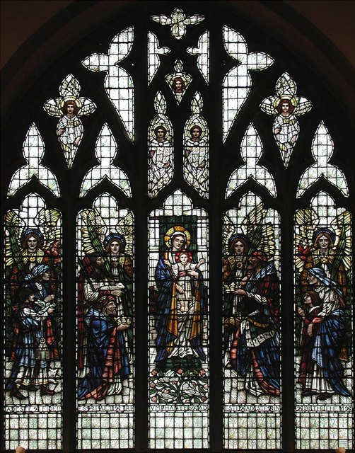 St Anselm, Hatch End - Window