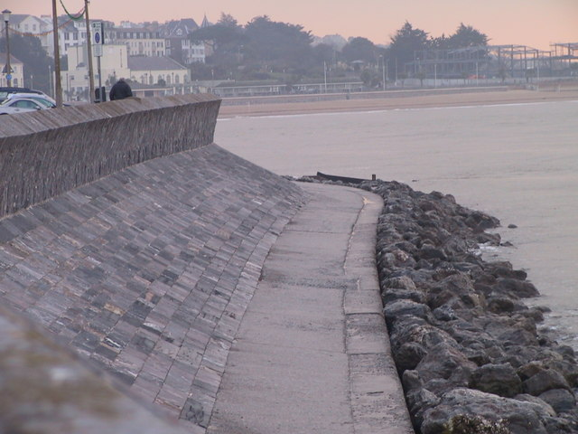 Seawall and Rip Rap, Exmouth