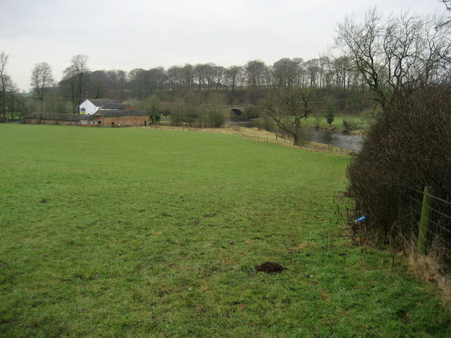 Ribble Way opposite Great Mitton