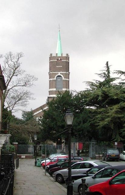 St John at Hampstead, Church Row, London NW3