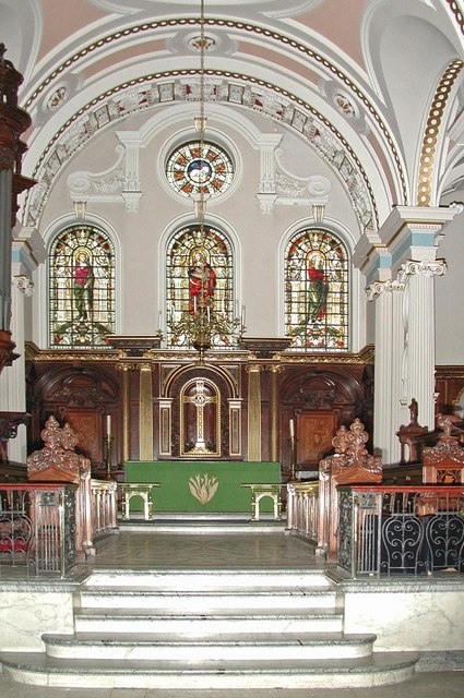 St John at Hampstead, Church Row, London NW3 - Chancel