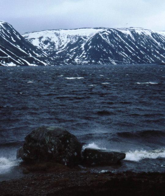 Loch Muick in winter