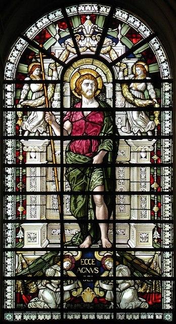 St John at Hampstead, Church Row, London NW3 - Window