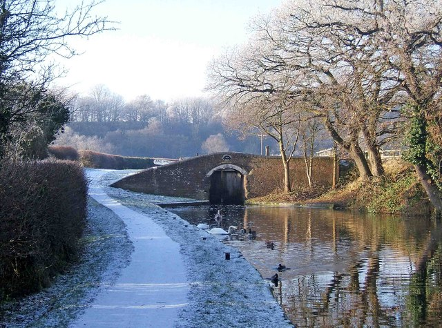 Hinksford Lock Bridge, Staffordshire & Worcestershire Canal