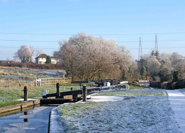 Hinksford Lock, Staffordshire & Worcestershire Canal