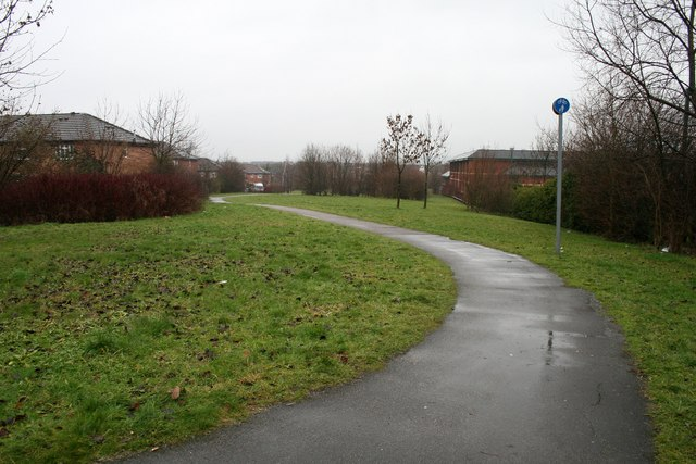 Foot and cycle path