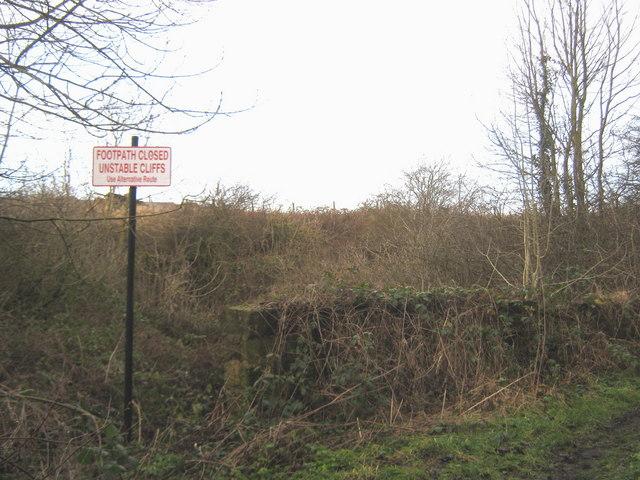 Footpath closure near  Wood House Farm Sunderland