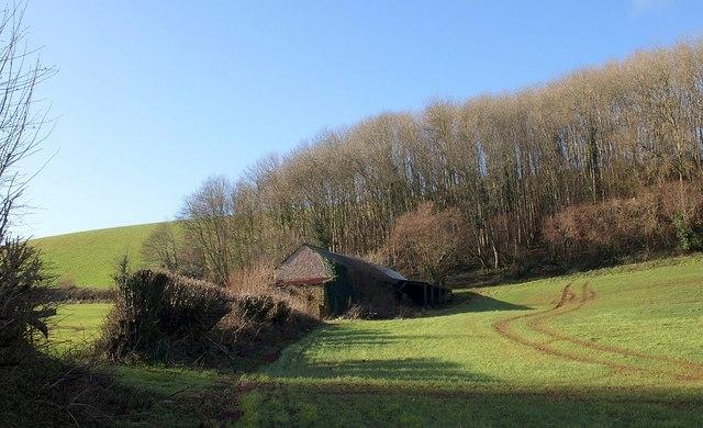 Barn at Brownscombe Wood