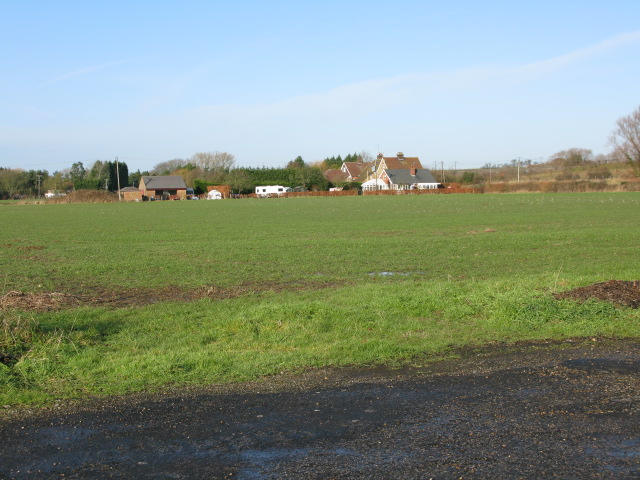 View NW from Jemmett Lane