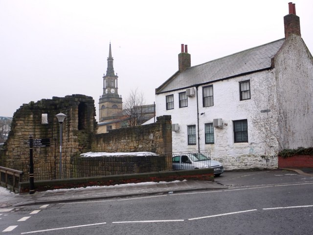 Corner Tower and Gardener's cottage, City Road