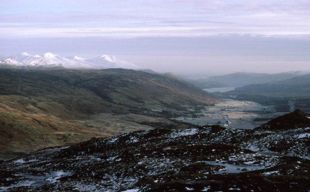 Looking over Glen Dochart