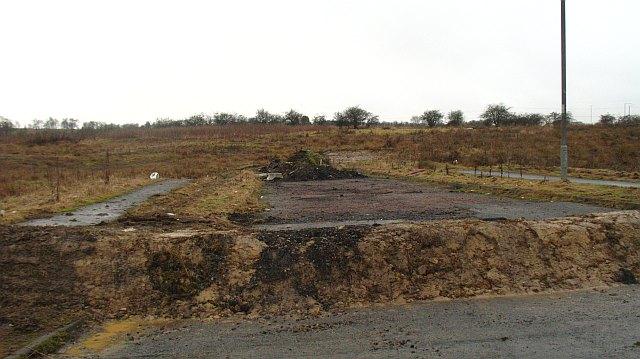 Land awaiting development, Chapelhall