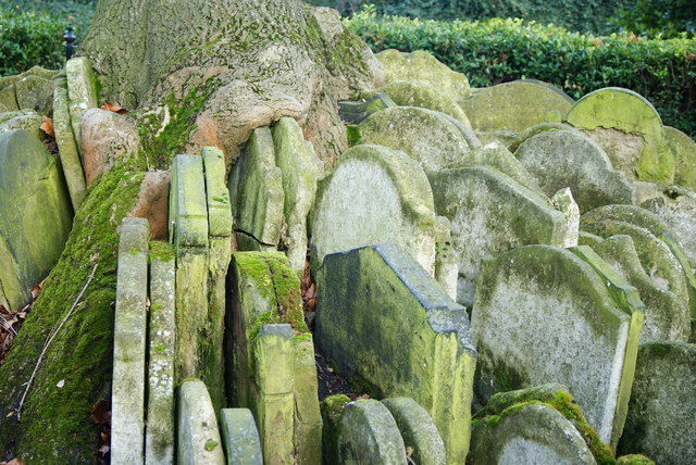 Gravestones by the Hardy Tree, St.Pancras, London (2)