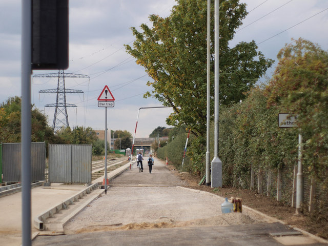 Guided busway cycleway