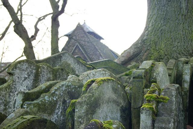 Gravestones by the Hardy Tree, St.Pancras, London (3)