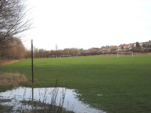Football pitches at South Hylton Sunderland