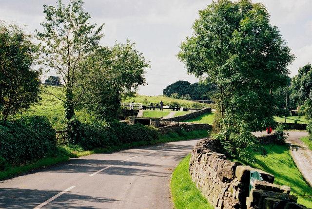Greenberfield Top Lock, and Greenberfield Lane