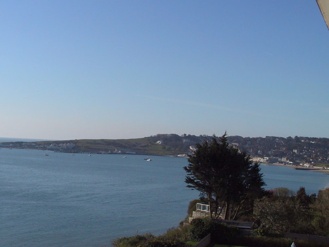 Looking SE across Swanage Bay
