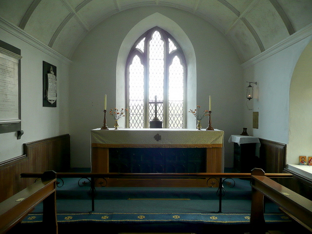 St. Symphorian's church, Forrabury - interior