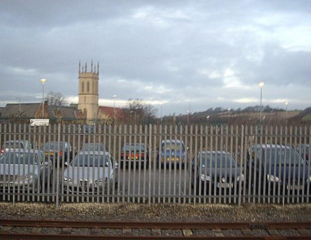 A church tower, Grantham