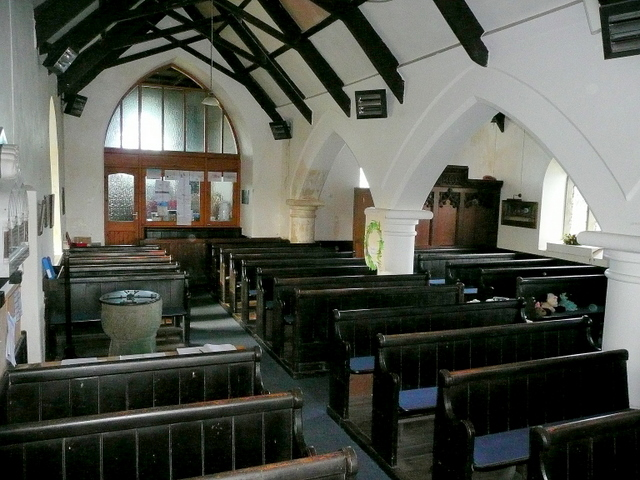 St. Symphorian's church, Forrabury - interior