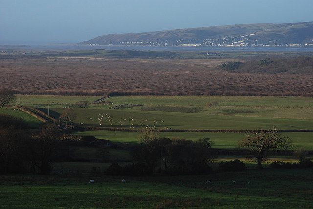 View over the Cors Fochno