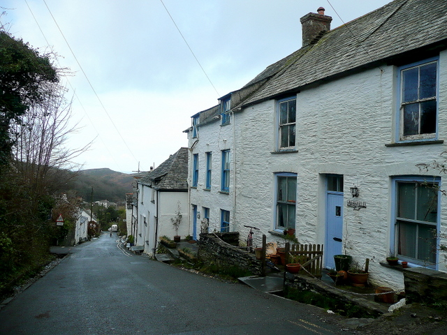 Cottages in Fore Street, Boscastle