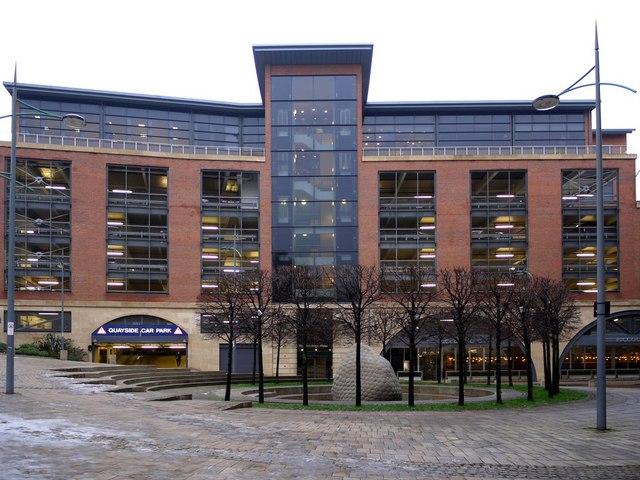 Quayside multi-storey car park