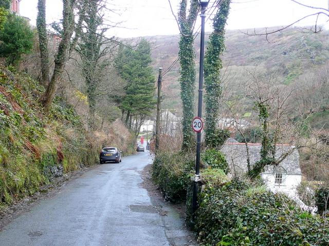 Old Road, Boscastle