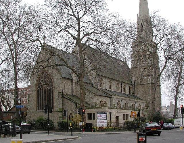 St Saviour, St George's Square, London SW1
